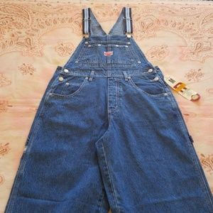 Revolt Overalls  (dark blue, white, light blue)